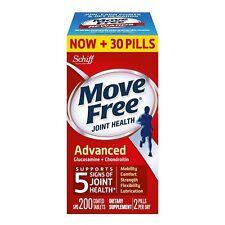 200 Tablets Schiff Move Free Advanced Glucosamine + Chondroitin