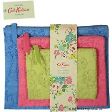 Cath Kidston - Quilted Trio Zip Purse set (multi) *BNWT* *100% authentic*