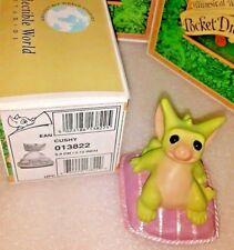 Rrd2 💖 Pocket Dragons Dragon * Mint in Box * �Cushy� * 2001 *
