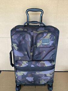 Tumi Briley Expandable International Carry-on 4 Wheels Bag 2223460 Camo