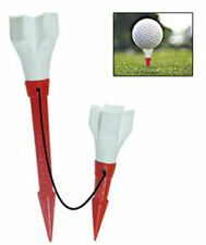 """36 GOLF TEES Patriot Rubber Head XL Tee Driver/Wood Special Anchor Cord 3.25"""""""