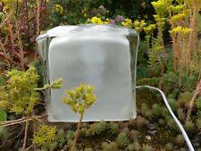 Lampe IKEA modèle ICE CUBE glaçon créée par IVIKEN des années 1990 très bon état