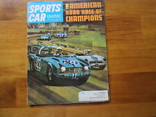 Sports Car Graphic Magazine January 1965, The American Road Race Of Champions