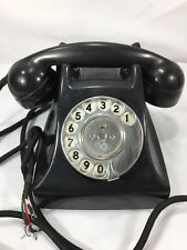 VIntage Antique GEC G.E.C.Bakelite British Telephone Phone General Electric Corp
