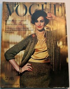 60s vintage Vogue fashion 1961 Bailey Shrimpton Vidal Sassoon Tynan Donovan Moss