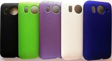 PARA HTC DESIRE HD G10 CARCASA FUNDA DURA SEMI PERFORADA SNAP-ON HARD MESH CASE