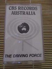 CBS RECORDS The Driving Force SAMPLER Various Artists RETRO cassette Tape