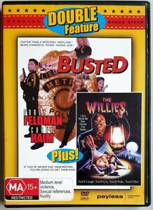 Busted / The Willies DVD - Double Feature