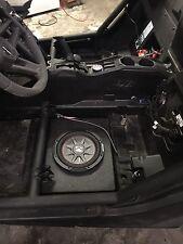"Can-am Maverick X3 10"" Under Seat Sub Box"