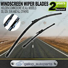 For Holden VE Commodore  Windscreen Wiper Blades Frameless Berlina Calais 06-13