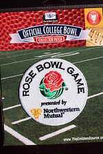 College Football Rose Bowl Patch 2014/15 CFP Semi-Finals #2 Oregon, #3 FSU