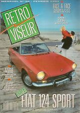 RETROVISEUR 30 DOSSIER FIAT 124 SPORT COUPE & SPIDER BIGATA DOUZE PANHARD X 19