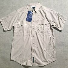 NEW 5.11 Tactical Series Mens Button Up Short Sleeve Vented Shirt Nylon Sz M #P3