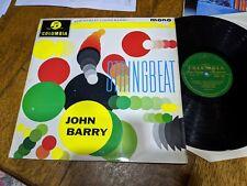 "John Barry COLUMBIA 33SX 1358 12"" LP 33 RPM JOHN BARRY ""STRINGBEAT"