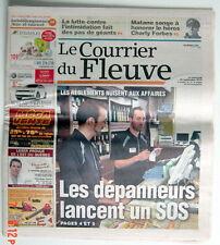 JOURNAL RÉGIONAL LE COURRIER DU FLEUVE DU 25 SEPTEMBRE 2013