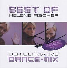 """HELENE FISCHER """"Best of Dance Mix"""" CD Album NEU signiert IN PERSON Autogramm RAR"""