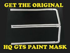 HQ GTS Ute / Van Front Stripes. Decals/Paint Mask Stencil Stickers - Holden