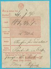 Postscheine Preußen Postschein Handschr. Frankfurt by the 20.11.1846