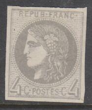 France - 1870, 4c Grey stamp - M/M - SG 154