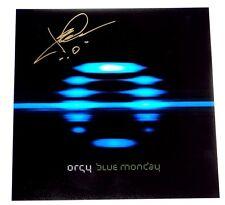 ORGY JAY GORDON SIGNED BLUE MONDAY 12X12 ALBUM COVER PHOTO!!!