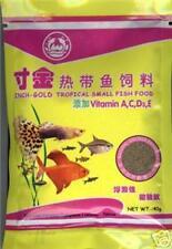 Vente poissons tropicaux ALIMENTAIRE 40 gr PKS vitamines A, C, D, E