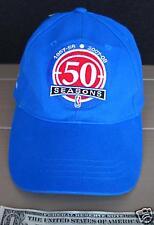NWOT RARE 50th ANNIVERSARY DETROIT PISTONS BASKETBALL VELCRO ADJUST HAT CAP