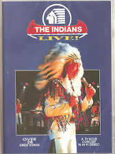 THE INDIANS LIVE 28 TRACK LIVE DVD NEW IRISH COUNTRY