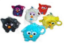 Furby Colourful Assorted 3 Inch Sound Soft Keyring Keychain Bag Clip New Gift