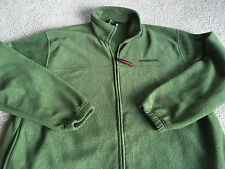 Mens Winchester Army Green Fleece Zipper Front Jacket X-Large hunting fishing
