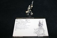 D&D Miniatures Dragoneye Elf Spearguard 19/60 with card. WOC 2003