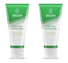 Weleda Plant Gel VEGAN Toothpaste - 75ml TWIN PACK