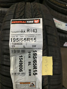 1 New 195 65 15 General Altimax RT43 Tire