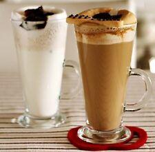 2 Stück Latte Macchiato Gläser Kaffeegläser mit Henkel Glas 455cc.