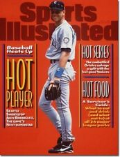 July 8, 1996 Alex Rodriguez Seattle Mariners Sports Illustrated NO LABEL