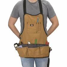 DURABLE Dickies Work Apron With Utility Tool Storage 16-Pocket Work Gear Apron