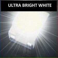50 x ULTRA BRIGHT WHITE 1210 3528SMD SMT PLCC-2 SURFACE MOUNT ULTRA BRIGHT LEDS
