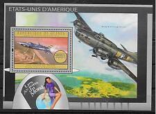 FLUGZEUGE/ Guinea MiNr Block 2179 **