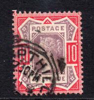 Great Britain Victoria 10d c1887-92 Used Stamp (2055)