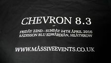 Chevron 8.3 t-shirt Stargate convention Size Small SG1 atlantis SGU very rare