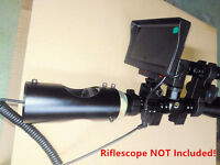 DIY Night Vision Scope Digital Camera Lens with Monitor Day Night Use f Hunting