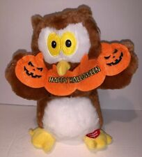 """American greetings Ollie The Owl Happy Halloween Sing and Dance Plush Decor 11"""""""