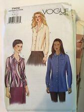 Vogue Sewing Pattern 7409 size 14 16 18 Top Shirt