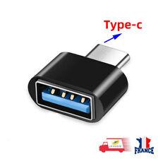 Mini Adaptateur USB Type C Male vers USB A Femelle OTG Universel pour téléphone