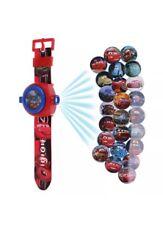 Cars Lightning McQueen Car Figure Projector Projection Light Wrist Watch Toy