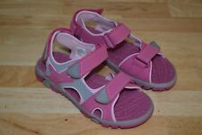 Khombu Girls Lilly Sport Sandals, Athletic, Pink/Grey Size 3, New without box