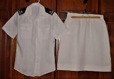 USN Ensign Womans White Uniform