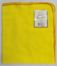 Downview Traditional Heavy Duty 100% Cotton Large Yellow Duster 53 x 62cm 1263