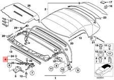 Genuine BMW Z3 Roadster Left Folding Top Lock OEM 54318411127