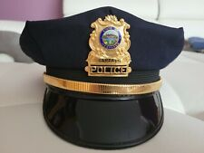 Cap, hat, casquette Nebraska USA Captain police obsolète 1980, super état !!