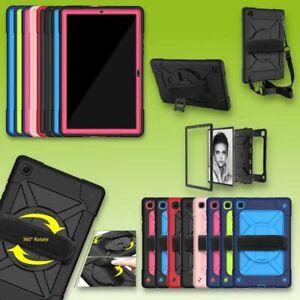 Für Samsung Galaxy Tab A7 10.4 2020 360 Grad Outdoor Hybrid Tasche Etuis Cover